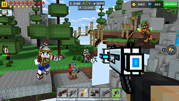 Enjoy Pixel Gun 3D hack and take your gaming skills to a different level